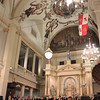 Inside for the free concert of the evening in the oldest active Catholic Church in America - St. Louis Cathedral
