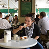 The Famous Cafe du Monde for Hot Coco and Beignets