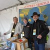 Honored to know these two men - Ted Simon and Sam Manicom - wonderful authors and adventure motorcyclists as well.