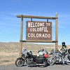 head from NV to CO to meet mom and dad for our mini-trip - met up with Jeremy for over 200 miles of buddy riding!