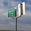 Heading to Roswell, NM found humor in passing through Earth!