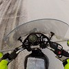 Heading out of Roswell and homebound hitting ice in the NM mountains...