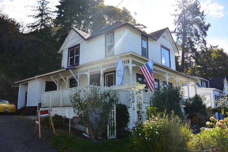 Goonies house in Astoria, OR