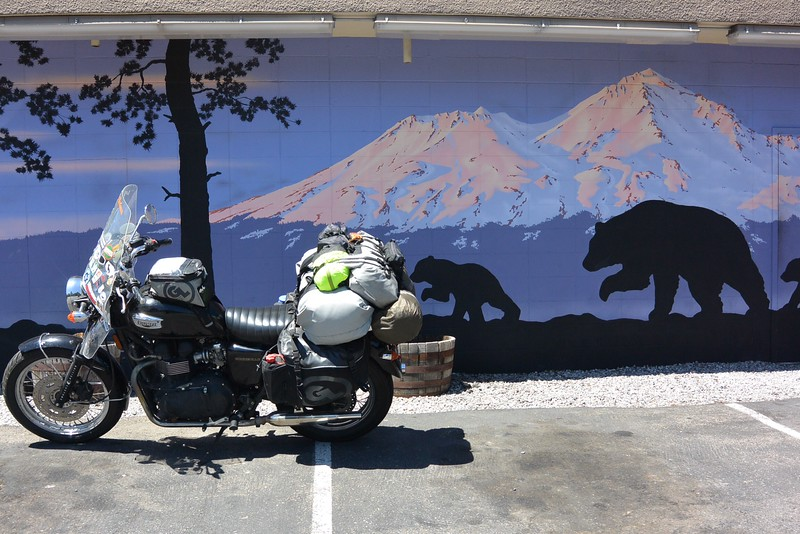 A stop in Mt. Shasta for brunch - Black Bear Cafe