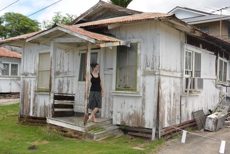 Old plantation home visit on the Island of Honolulu, HI.