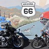 Route 66 ride through Kingman with Adam Sandoval of @ScootinAmerica