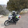 Riding through the salt river canyon