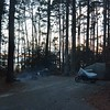 Camping in Louisiana North Toledo Bend State Park - right behind my site is the lake that I watch sunset each night