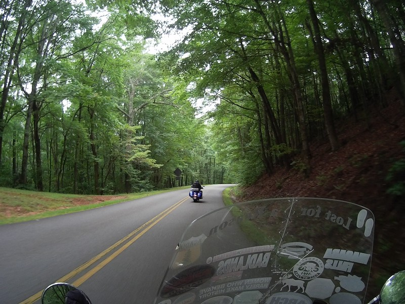 Blue Ridge Parkway - NC - with my uncle Don!