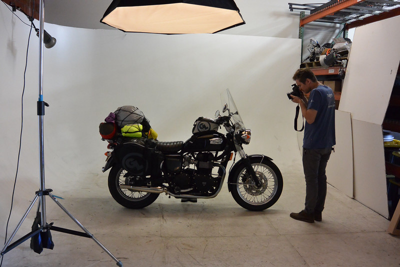 Amelia's first photo shoot at British Customs LA