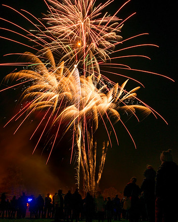 2nd Abingdon Scouts Fireworks