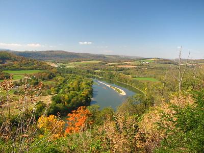 Allegheny River in Western PA