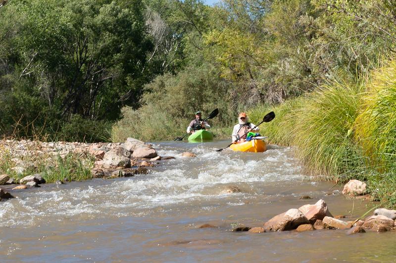 Verde River Institute Float, Tapco to Tuzi, 10/1/19 - 65 CFS