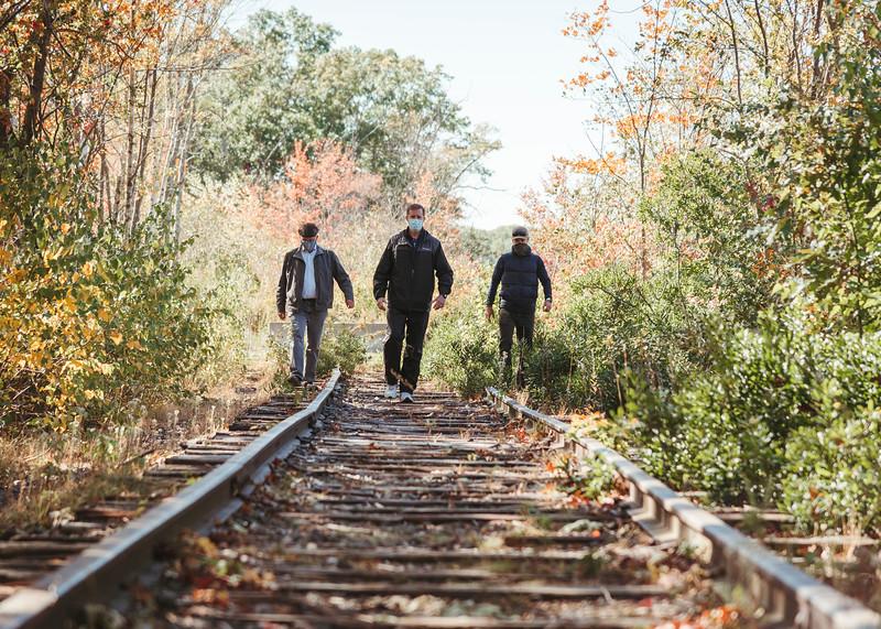 10 9 20 Lynnfield Rail Trail update 2