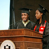 l-r Kadeem Gill '11 and Andrea Clay '11