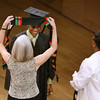 Kadeen Gill '11 receives his stole