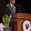 Joshua Guild, Asst. Professor of History and African American Studies delivers the keynote address