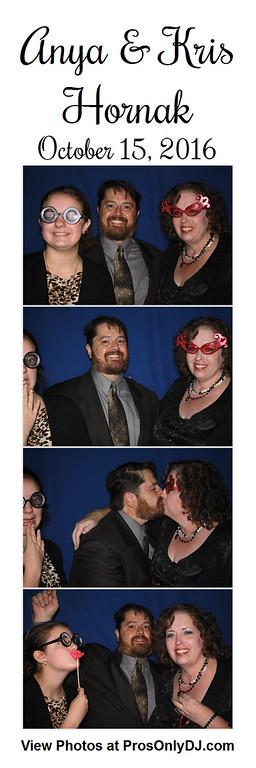 10-15-16 Anya & Kris Hornak Wedding
