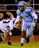 North Penn's Justis Henley reverses his field as he runs for long yardage. (Bob Raines--Digital First Media)