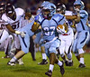 North Penn's KJ Cartwright runs for long yardage against William Tennent Oct. 20, 2017. (Bob Raines--Digital First Media)