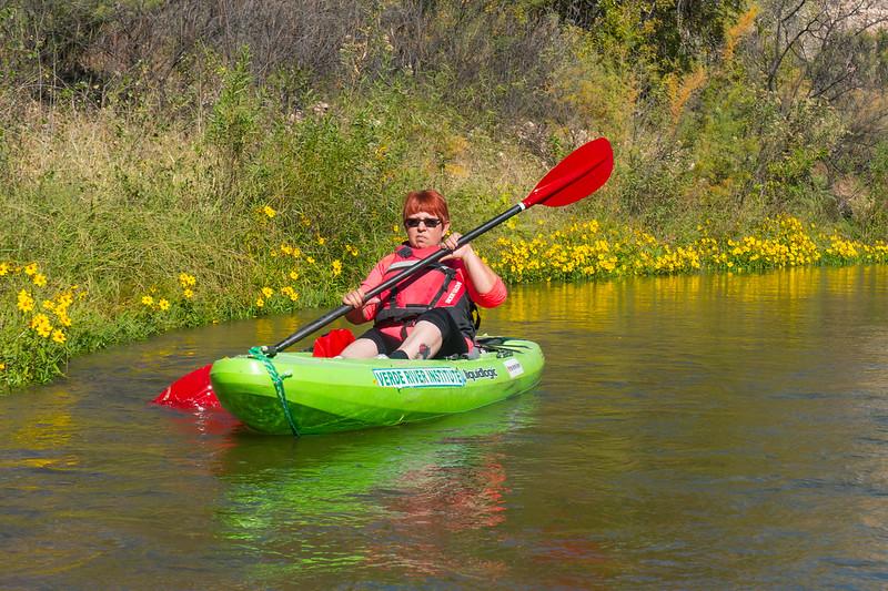 Verde River Institute Float Trip, Tapco to Tuzi, 10/21/16