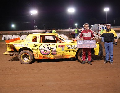 #67 Dale Fishburn Street Stock Dash Winner