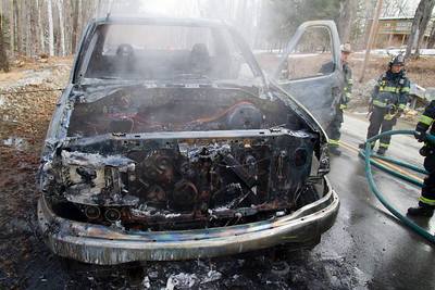 Truck Fire - South Strong Road - March 31st, 2011