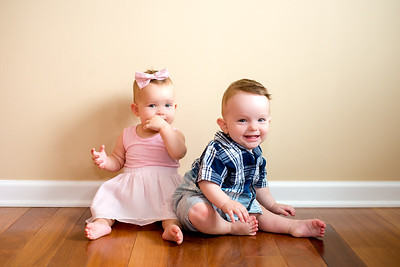 10 Month Twins