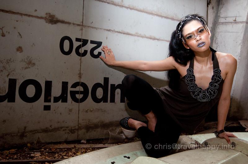 Model Shoot, Bangkok