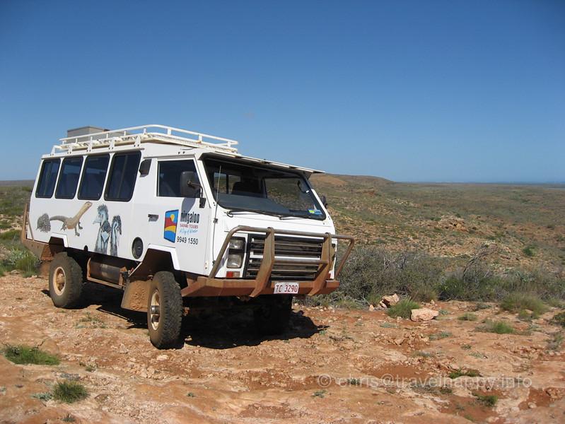 Oka 4-Wheel Drive Truck, Exmouth Outback, Western Australia