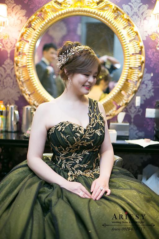 新娘秘書,台中新秘,台北新秘,編髮新娘髮型,送客造型,愛瑞思,ariesy
