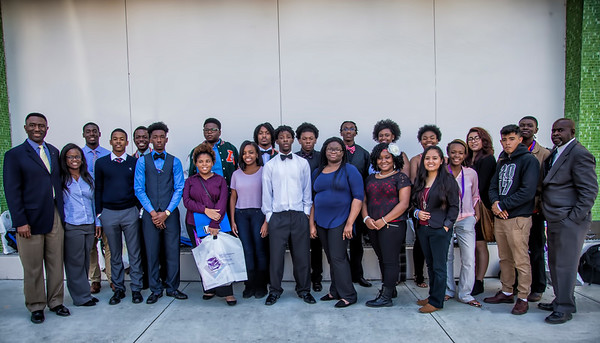 100 Black Men of Jacksonville Infinite Scholars Event Jan 21, 2017
