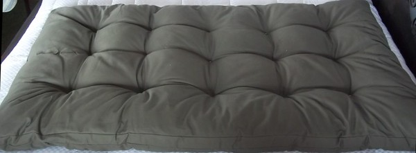 "100% COTTON MATTRESSES - FUTON MATTRESSES - SOLID WOOD BED & FUTON FRAMES - Custom-made in Costa Rica plus NIKKEN Magnetic & Water products  Below are a few Natural Bedding Items and/or Holistic Tools!: •  100% Cotton Mattresses  •   •  Futon Mattresses  •   •  Cotton Pillows  •   •  Kenko Naturest Mattress Topper  •   •  Dream Pillow  • •  Hand-made, Chilean Pine Bed Frames  • •  Counter Top Electric Hot/Cold Water Dispenser  @@@@@@@@@@@@@@@@@@@@@@@@@@@@@@@@@  Tired of the MEGA uncomfortable beds in Costa Rica?  Do you have a bad back and need some firmness?  Or allergies or your body just can not handle fake/synthetic materials?  Have you tried many beds and some were too hard, or too soft - and you just want one that is ""just right"" for YOUR body????  Or do you just want to honor your body and sleep with natural fibers?  Then a 100% COTTON MATTRESS might be the PERFECT thing for you!  (they also have 100% cotton pillows)  WHY CHOOSE A COTTON MATTRESS?  DO YOU LIVE IN A HOT/HUMID CLIMATE OR ARE YOU GOING THROUGH MENOPAUSE AND GETTING HOT FLASHES?       Cotton is known to breathe which helps eliminate moisture retention and allows the mattress to remain dry or to dry quickly thus avoiding mold or mildew.   (as a Memory Foam fan - note that they get you HOT [I couldn't even have sex in my old full memory foam bed!!!])      One of the TOP REASONS I've heard is the metal coil that is in many standards beds - the metal coils can AMP UP the energy/vibration if you have High Blood Pressure, Pain or Arthritis!!!  (which is logical if you think of it)      I have a resource to connect you with for 100% COTTON, Hand-Stuffed, Semi-Orthopedic (which means FIRM) MATTRESSES!!       Since they're hand-stuffed, that means the fabric and the size can be CUSTOMIZED for whatever YOU need!!!   ≈≈≈≈≈≈≈≈≈≈≈≈≈≈≈≈≈≈≈≈≈≈≈≈≈  TWIN (in CR ""Individual"") (100cm x 190cm / 3.28' x 6.23'): Standard Starting at $161   Overstuffed (10-15% more cotton filling!): Starting at $184 Heavy Rustic Hand-made, Chilean Pine Wood Bed Frames : Starting at $278 Frame with a Standard Mattress: Starting at $386   FULL (in CR ""Matrimonial"")  (140cm x 190cm / 4.59' x 6.23') Standard:  Starting at $242   Overstuffed (10-15% more cotton filling!): Starting at $278 Hand-made, Heavy Solid Chilean Pine Wood BED FRAMES : Starting at $326 Frame with Standard Mattress: Starting at $531  QUEEN  (154cm x 200cm / 5.05' x 6.56'):  Standard: Starting at $312   Overstuffed (10-15% more cotton filling!): Starting at $358 Hand-made, Heavy Solid Chilean Pine Wood BED FRAMES : (inside mattresses - 154cm x 200cm – 5.05' x 6.57'): Starting at $417 Frame with Standard Mattress: Starting at $734  KING  (200cm x 200cm / 6.56' x 6.56'):  Standard: Starting at $381   Overstuffed (10-15% more cotton filling!): Starting at $438 Hand-made, Heavy Solid Chilean Pine Wood BED FRAMES : (inside mattresses dimensions - 154cm x 200cm – 5.05' x 6.57') Starting at $502 Frame with Standard Mattress: Starting at $854    ≈≈≈≈≈≈≈≈≈≈≈≈≈≈≈≈≈≈≈≈≈≈≈≈≈≈≈≈≈   FUTON MATTRESSES Since they are flexible, they can also be used for FUTONs (make sure to get the INSIDE measurements of your futon frame for it to fit properly)!!! Prices START AT - $288 for a Full•Matrimonial    FRAMES  Frames are Hand-Made and made of Chilean Pine with wrought-iron details and a hand-carved headboard and base.  @@@@@@@@@@@@@@@@@@@@@@@@  FAQ: MATTRESSES:  100% COTTON, Hand-Stuffed (hence can be CUSTOMIZED to fit whatever you need) and Semi-Orthopedic (which means FIRM).  They're also available in Over-stuffed!!!  They usually have some in standard ones in stock - ready for you to take with you! MATTRESS COVER:  You can choose from a few styles and colors which take just a few days to get. Or choose from one they have in stock.  CUSTOMIZED:  Do you have a space that's not the standard?  Do you like it harder or softer?  You can get them made to YOUR specifications!!!  (but it will take a bit longer)  LIKE VARIETY??:  Get one side of the futon in one fabric and the other in another!!!!  It's customized - you can do it!!! (like the first 2 pictures at the bottom of this page)   The mattress at the top of this page is the same mattress - just the opposite side as you can choose to have 2 different fabrics!!  This way you can change the decor depending on your mood!!  @@@@@@@@@@@@@@@@@@@@@@@@@@@@@@@@@     PILLOWS!!!  100% Cotton-filled Pillows in Pure cotton in easy-clean zippered  Standard Size = 44cm x 70cm $20/each or $36/pair  King Size = 95cm x 70cm $30/each or $54/pair  Custom sizes available by request  @@@@@@@@@@@@@@@@@@@@@@@@@@@@@@@@@ KENKO NATUREST™ MATTRESS TOPPER   The Kenko Naturest™ Mattress Topper combines advanced scientific technology with natural materials that are environmentally renewable and help you to enjoy refreshing, healthy sleep.  RAM™ (radial-axis magnetism) Technology features spherical neodymium magnets which produce a series of overlapping magnetic fields to enfold and surround you.  The physical foundation of the Kenko Naturest™ Mattress Topper is natural latex rubber — which provides an ideal blend of support and comfort, and is resistant to microbial growth and dust mites. It retains firmness better than polyurethane foam, and wicks away moisture. A natural-fiber cover promotes ventilation, helps to regulate temperature — and offers resistance to flammability without adding the chemicals that some other sleep products require. The surface of specially molded, gradient-density nodules is the final touch, producing a massage effect that helps you sleep soundly and wake refreshed. After you try the Kenko Naturest™ Mattress Topper, you'll never want to sleep without it.  TWIN•INDIVIDUAL  -  $776/each FULL•MATRIMONIAL  -  $976/each QUEEN -  $1176/each KING  - $1370/each  @@@@@@@@@@@@@@@@@@@@@@@@@@@@@@@@@   KENKO DREAM PILLOW  The new Kenko Dream Makura is made with the same high-quality materials and technology that characterize the Nikken Relaxation and Rest products. This pillow has a base which is made with 100% natural bamboo fibre extracted from a bamboo species that grows in uncontaminated mountain regions, its transformation has no negative environmental impact and its fibre contains no chemical agents.  PRICE:  $226/each (located in Pavas)  @@@@@@@@@@@@@@@@@@@@@@@@@@@@@@@@@  PAYMENTS Cash - colones or U.S. $s (PayPal POSSIBLY available if you pay ALL fees associated with getting the cash into CR [ALL PayPal fees, atm withdraw fees])   SHIPPING LIVE FURTHER AWAY or DON'T HAVE A CAR THAT CAN HANDLE IT?:   They can ship most things to you throughout Costa Rica (possibly via bus for cheaper delivery price, weekly trucks or private delivery). Inquire about Delivery Fees. RETURNS:   For health/sanitary reasons, ALL bedding items are NOT RETURNABLE so best for you to come up and try one out first (hence why it's important to come feel it out!!).  All items non-refundable.   @@@@@@@@@@@@@@@@@@@@@@@@@@@@@@@@@  CONTACT:  Email me (Vicki [aka the Sarong Goddess]) your contact information (name and phone number of who's purchasing it/will be the contact person), what you're seeking and I will Connect you to my friend!   CONTACT:  ThingsForSaleInCostaRica@gmail.com"