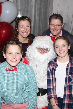 100 Club of Mass 2016 Party with Santa Claus