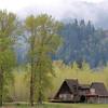 Cabin along Columbia River