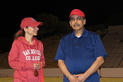 Augustine Munoz with Sonya Christian.