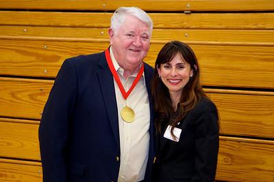 Greg Goodwin with Sonya Christian.