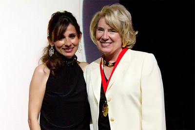 Jean Fuller with Sonya Christian.