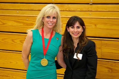 Carol Sorrell with Sonya Christian.