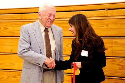 Joe Fontaine with Sonya Christian.