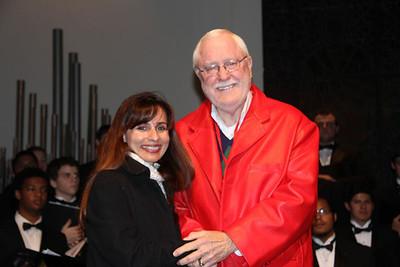 Harvey Hall with Sonya Christian.