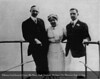 Henry Ford, Clara Bryant Ford and Edsel Bryant Ford in 1912. From the Collections of The Henry Ford. THF117563 (core)