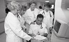 101494_081<br /> WORKING PHOTO OF THE STUDENT NURSES, Teresa Wehrwein, Dorothy Fox, 1994