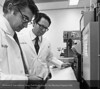 Drs. Pedro Cortes & Nathan Levin of Nephrology, c.1982