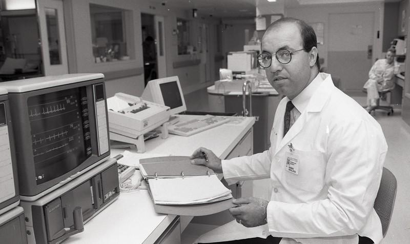 101494_063<br /> Dr. Marwan Abouljoud, transplant surgery, 1994