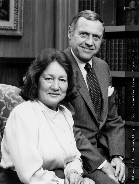 Walter Buhl Ford II and Josephine Clay Ford