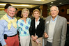 Douglas McClure, Midge McClure, Dr. Mark Kelley, Gail Kelley