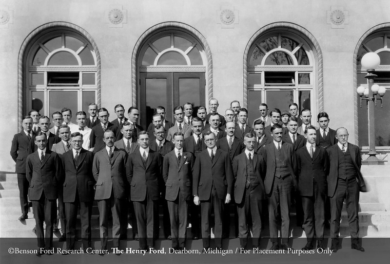 The Henry Ford Hospital staff in 1923. From the Conrad R. Lam Collection, Henry Ford Health System. ID=02-001