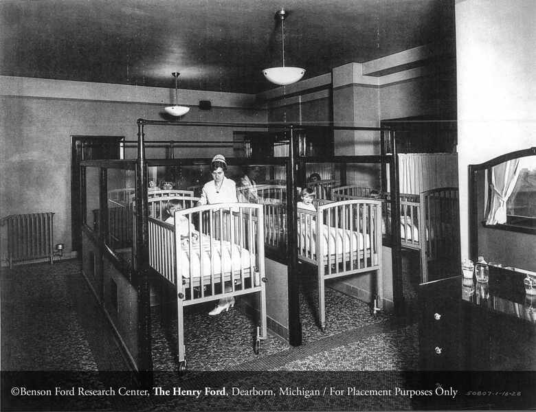 The Henry Ford Hospital Department of Pediatrics ward in 1928. From the Collections of The Henry Ford. THF117590 (core)