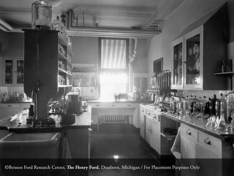 Pathology Laboratory. From the Collections of The Henry Ford. THF117470 (core)